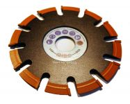 Aluminium V-Naht Fräser für Winkelschleifer 125 mm